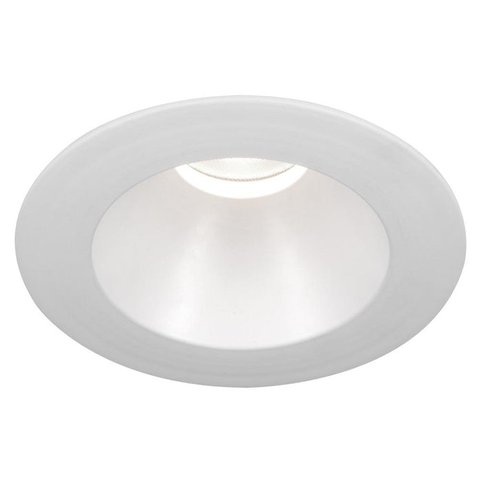 "Oculux 3.5"" Round Open Reflector Polycarbonate Trim - White Finish"