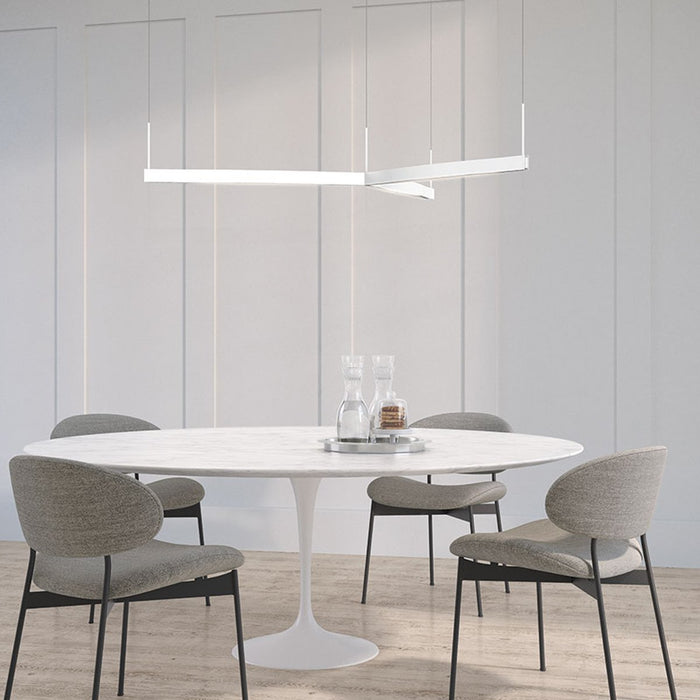 Ola Tri-Star LED Pendant - Display
