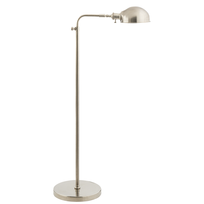 Old Pharmacy Floor Lamp - Antique Nickel Finish
