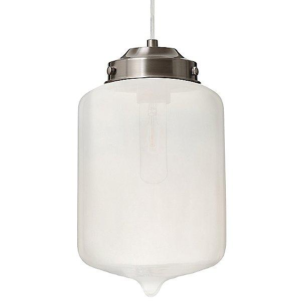 Olin Mini Pendant Light Frost/Satin Nickel