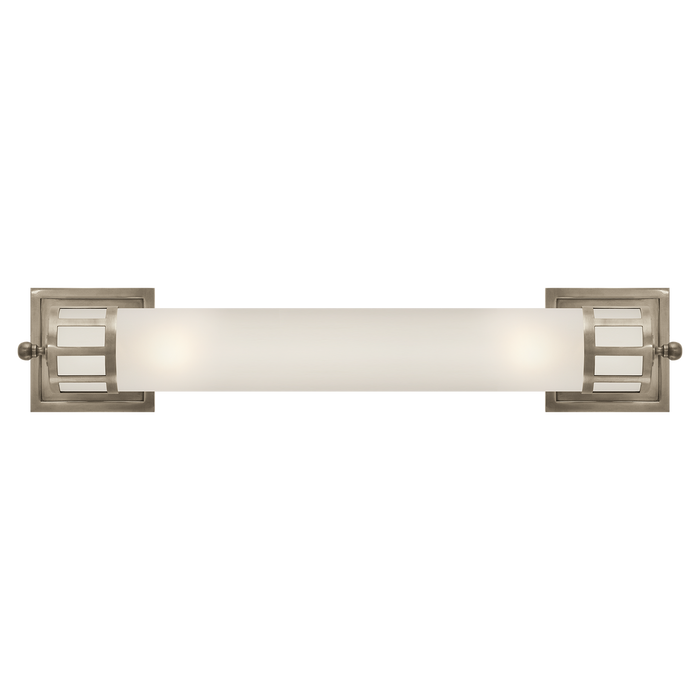 Openwork Long Sconce - Antique Nickel Finish