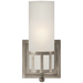 Openwork Single Sconce - Antique Nickel Finish