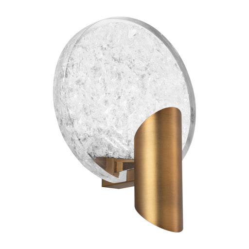 Oracle LED Wall Sconce - Aged Brass Finish