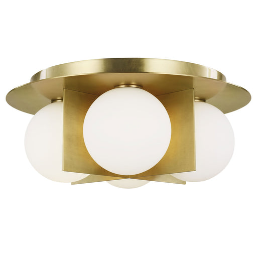 Orbel Ceiling Light - Aged Brass