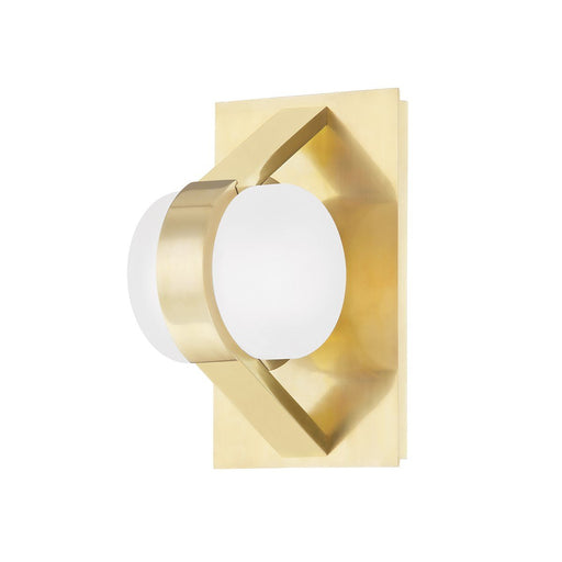 Orbit Wall Sconce - Aged Brass Finish