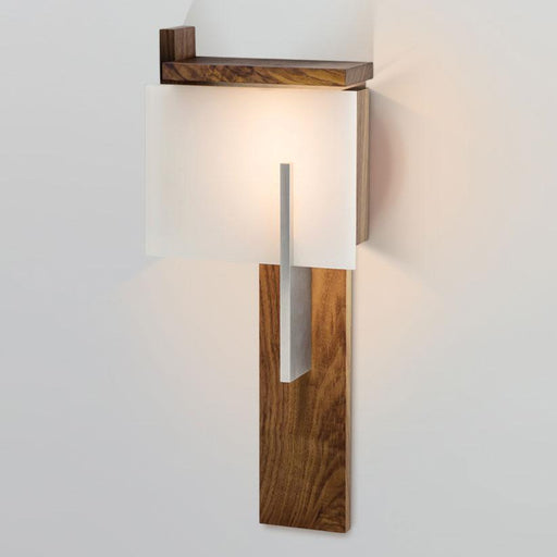 Oris LED Sconce - Oiled Walnut Finish