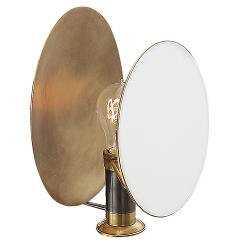 Osiris Single Reflector Sconce Bronze/Antique Brass