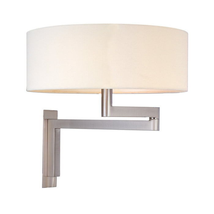 Osso Swing Arm Wall Light - Satin Nickel