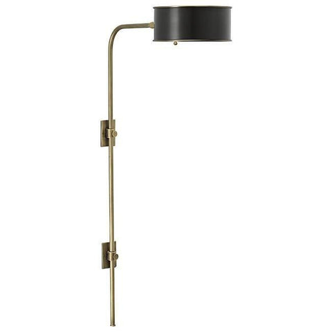 Overture Wall Sconce Aged Brass