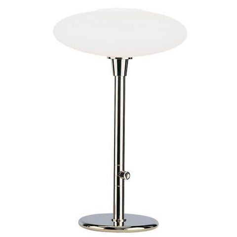 Ovo Table Lamp Polished Nickel