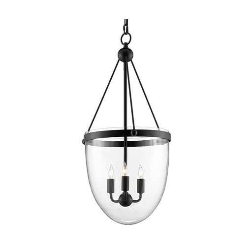 Ovolo Lantern - Antique Black Finish