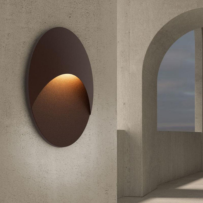 Ovos Oval LED Outdoor Wall Sconce