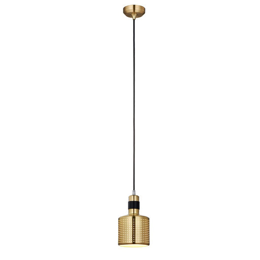 Pendant - Gold/Black Finish