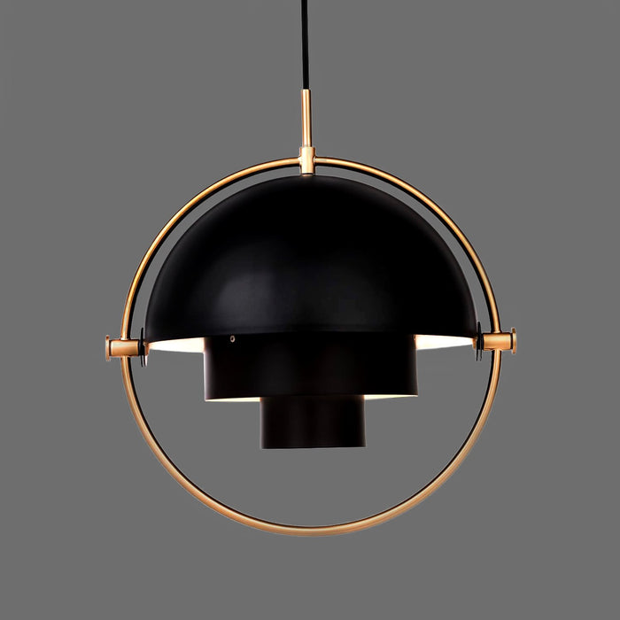 Pendant  - Black/Brass Finish