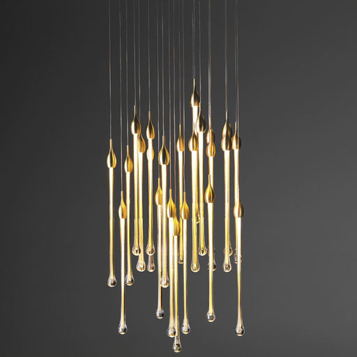 Chandelier - Gold Finish