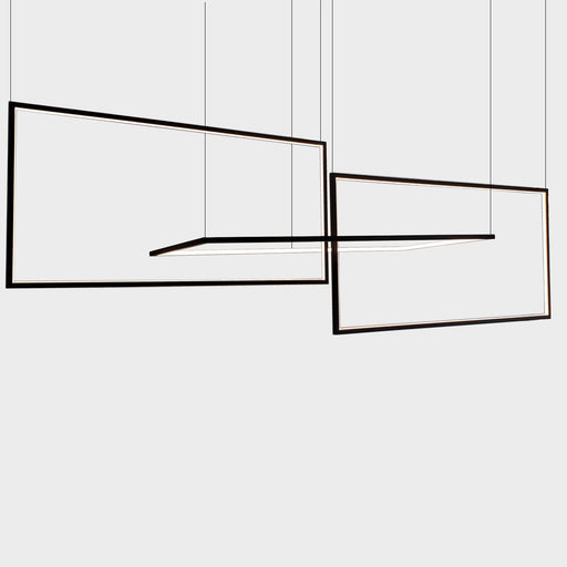 Linear Pendant - Black Finish