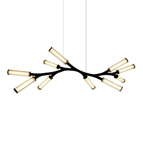 Small Linear Pendant - Black Finish