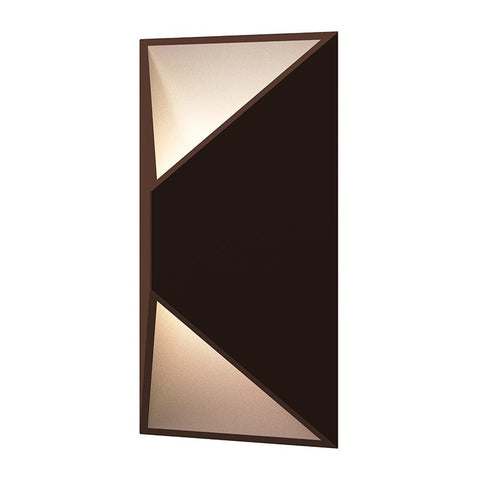 "PRISMA 11"" OUTDOOR WALL LIGHT Bronze"