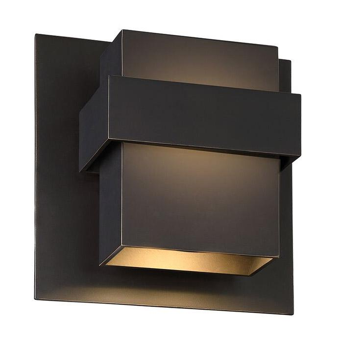 "Pandora 9"" LED Outdoor Wall Light - Oil Rubbed Bronze Finish"