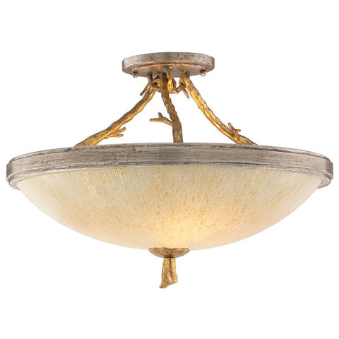 Parc Royale Semi Flush Mount