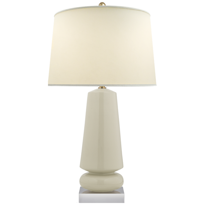 Parisienne Medium Table Lamp Iced Coconut