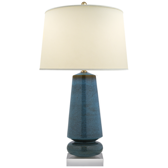 Parisienne Medium Table Lamp Osio Blue