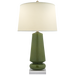 Parisienne Medium Table Lamp Shellish Kiwi