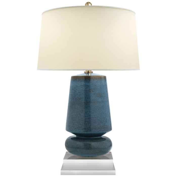 Parisienne Small Table Lamp Osio Blue
