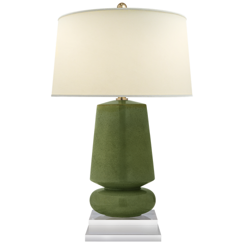 Parisienne Small Table Lamp Shellish Kiwi