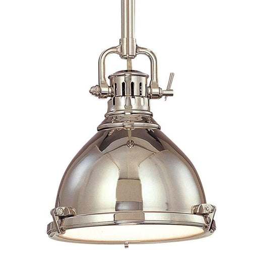 Pelham Pendant - Polished Nickel
