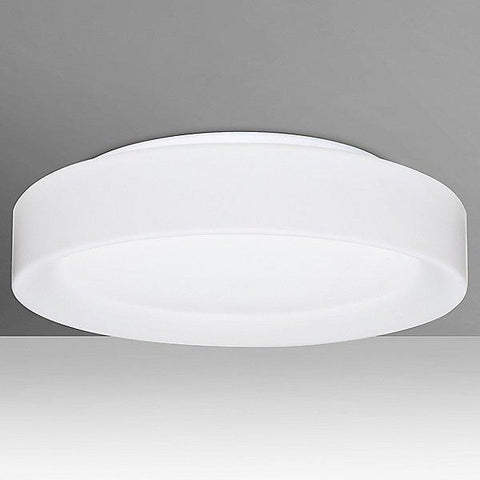 "Pella 13"" LED Flushmount Ceiling Light Opal Matte"