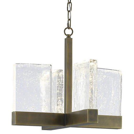 Penzance Chandelier - Antique Brass