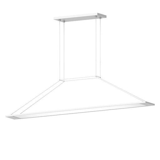 Perfile LED Linear Suspension - Satin White Finish