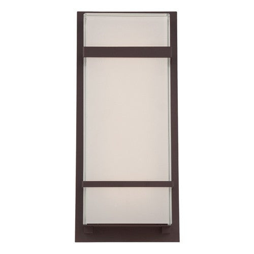 "Phantom 16"" Outdoor LED Wall Light - Bronze Finish"