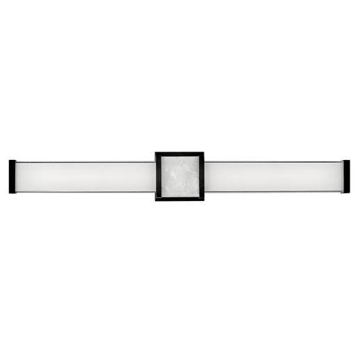 Pietra Large LED Bath Bar - Black Finish