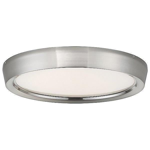 "Planets 17"" LED Flush Mount Ceiling Light - Brushed Nickel"