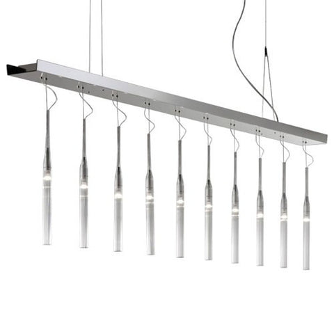 Pleiadi 10 Light Linear Pendant
