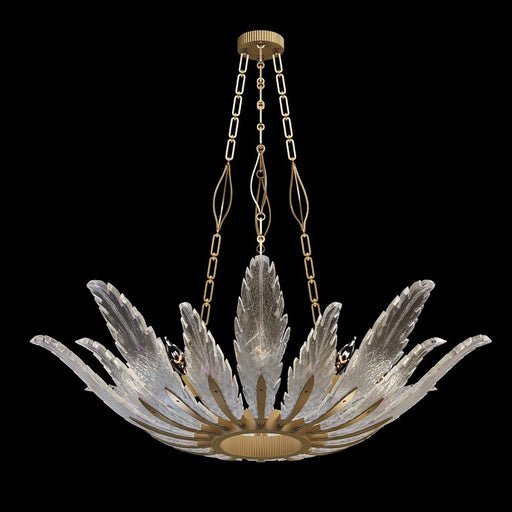 Plume Pendant 894040 - Gold Leaf Finish