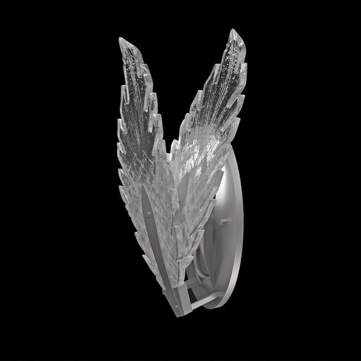 Plume Wall Sconce - Silver Leaf Finish