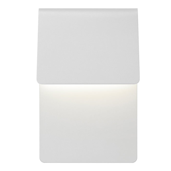 Ply Outdoor LED Wall Sconce - White