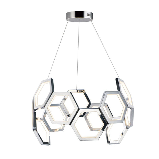 Polygon Pendant - Polished Chrome