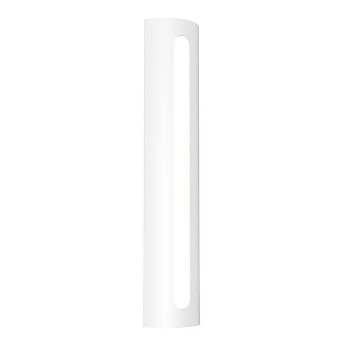 "Porta 24"" LED Outdoor Wall Sconce - Textured White Finish"