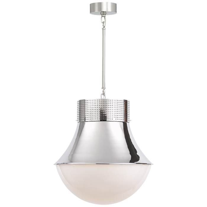 Precision Large Pendant - Polished Nickel