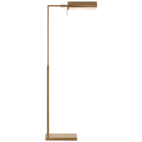 Precision Pharmacy Floor Lamp - Antique Burnished Brass