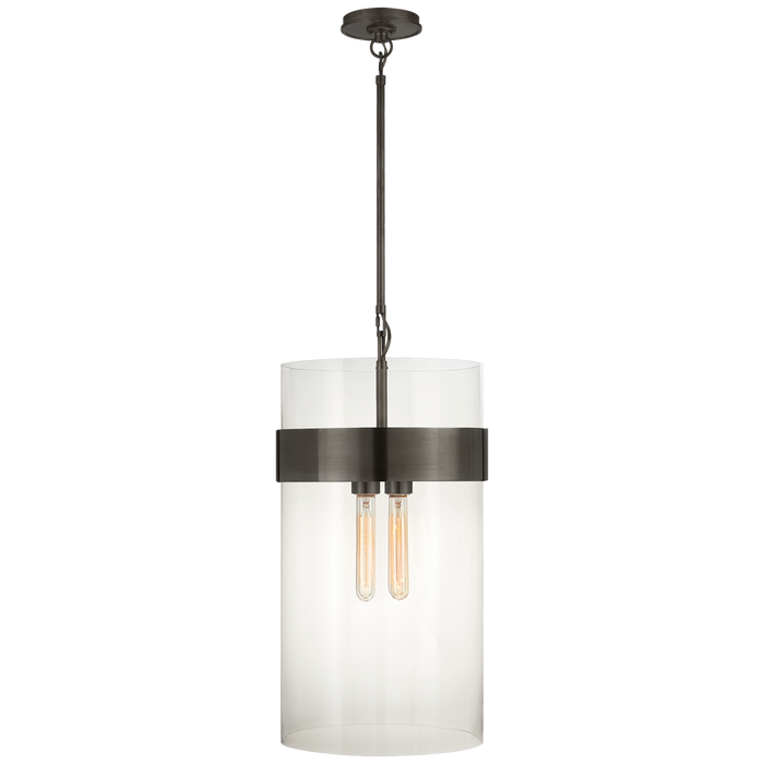 Presidio Medium Pendant - Bronze Finish