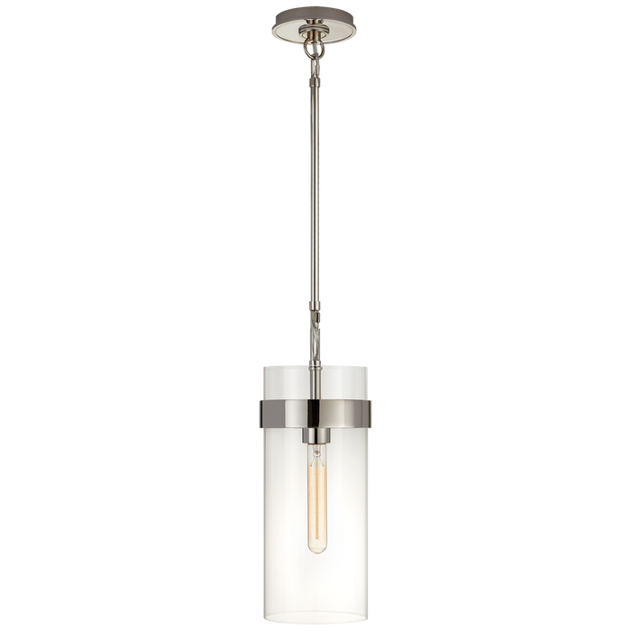 Presidio Small Pendant - Polished Nickel Finish