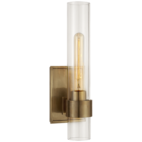 Presidio Petite Sconce Antique Brass