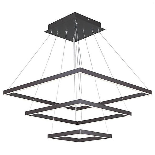 Quad 3 Tier LED Pendant - Bronze
