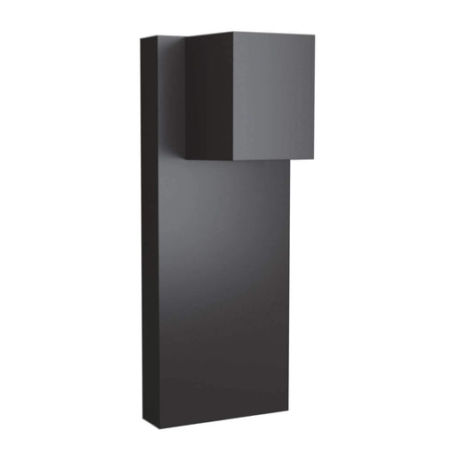 Quadrate Outdoor Wall Sconce - Graphite Finish