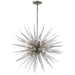 Quincy Medium Sputnik Pendant Polished Nickel